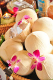 Coconut Beverage Royalty Free Stock Images