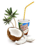 Coconut beverage Stock Images