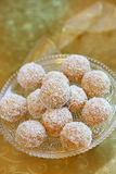 Coconut biscuits Royalty Free Stock Images