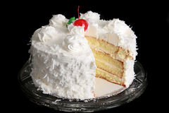 Coconut cake Royalty Free Stock Photo