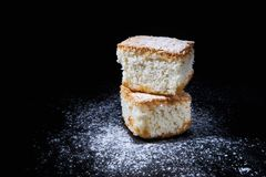 Coconut cake royalty free stock photography