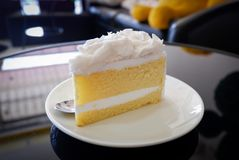 Coconut Cake Royalty Free Stock Photo