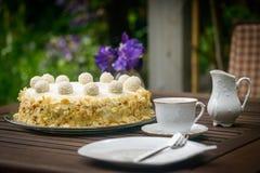 Coconut cake Royalty Free Stock Photos