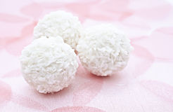 Coconut candy. Royalty Free Stock Image