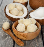 Coconut candy Royalty Free Stock Images