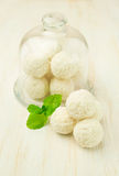 Coconut candy Stock Images