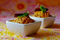 Coconut Chutney Royalty Free Stock Photography