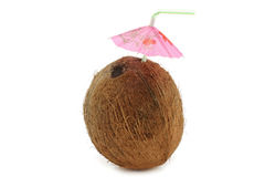 Coconut cocktail Royalty Free Stock Images