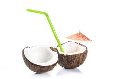 Coconut cocktail Stock Photos