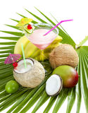 Coconut cocktail. Stock Photography