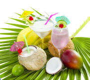 Coconut cocktail. Royalty Free Stock Photography