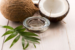 Coconut and coconut water Stock Photo