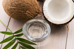 Coconut and coconut water Royalty Free Stock Photos