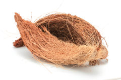 Coconut Coir Isolated Royalty Free Stock Photography
