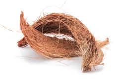 Coconut Coir Isolated Royalty Free Stock Photo