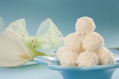 Coconut cookies Royalty Free Stock Photos