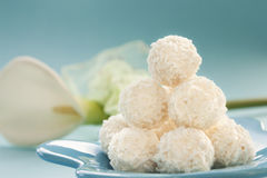 Coconut Cookies Stock Images