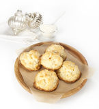 Coconut cookies Stock Image