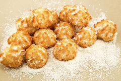 Coconut cookies Stock Photos