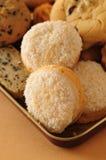Coconut cookies Stock Image
