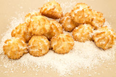 Coconut cookies Stock Photo
