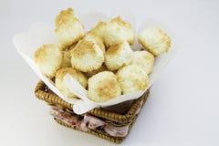 Coconut cookies Stock Photography