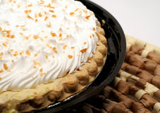 Coconut Cream Pie Royalty Free Stock Image