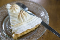 Coconut cream pie Stock Photography