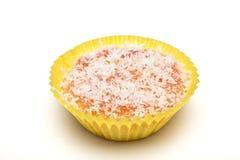 Coconut Cupcake Stock Photo