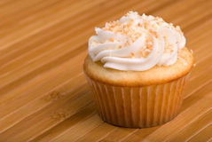 Coconut Cupcakes Royalty Free Stock Images