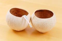 Coconut Cups Stock Photos