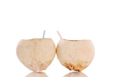Coconut Cups Stock Image