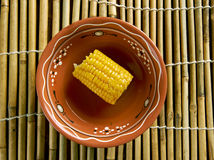 Coconut Curried Corn Stock Photo