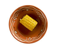Coconut Curried Corn Royalty Free Stock Photography