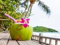 Coconut drink Stock Photos