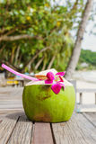 Coconut drink Royalty Free Stock Image