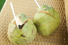 Coconut drinks Royalty Free Stock Photos