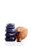 Coconut essential oil Stock Photo
