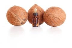 Coconut essential oil Stock Images