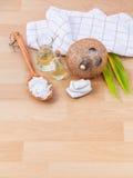 Coconut essential Oil Stock Photos