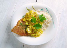 Coconut Fish Curry Royalty Free Stock Photo