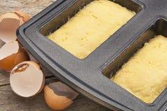 Coconut flour bread dough Stock Photography