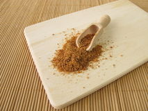 Coconut flower sugar Stock Image