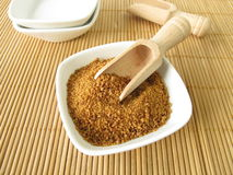 Coconut flower sugar Royalty Free Stock Photos