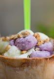 Coconut Ice Cream Stock Images