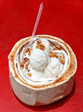 Coconut Ice Cream Stock Photos