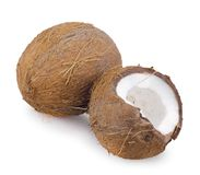 Coconut isolated Royalty Free Stock Photos