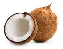 Coconut isolated Royalty Free Stock Photo