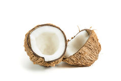 Coconut isolated. Coconut isolated on white background Stock Images
