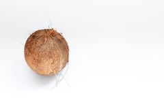 Coconut isolated on white Background. Clipping Path Stock Photos